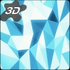 Crystal Edge 3D Parallax Live Wallpaper